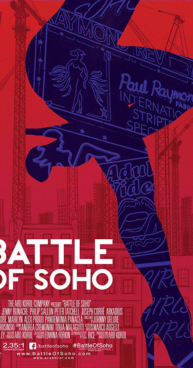Battle of Soho with Jenny Runacre