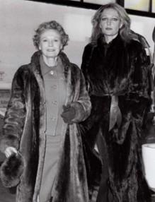 Jenny Runacre with Dame Anna Neagle