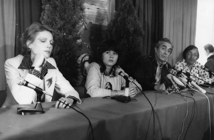 Cannes Film Festival with Maria Schneider and Antonioni