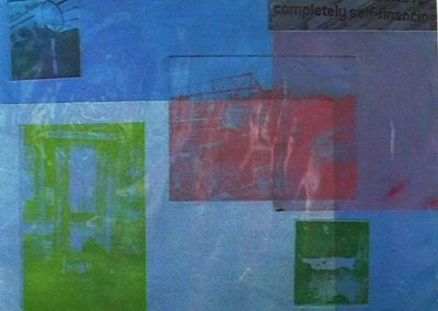 Blueperiod - monoprint