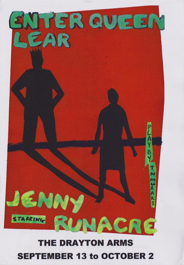 Jenny Runacre - Enter Queen Lear