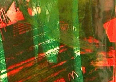 Mcdonalds - monoprint