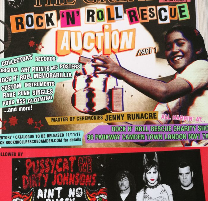 the Great RocknRoll Auction