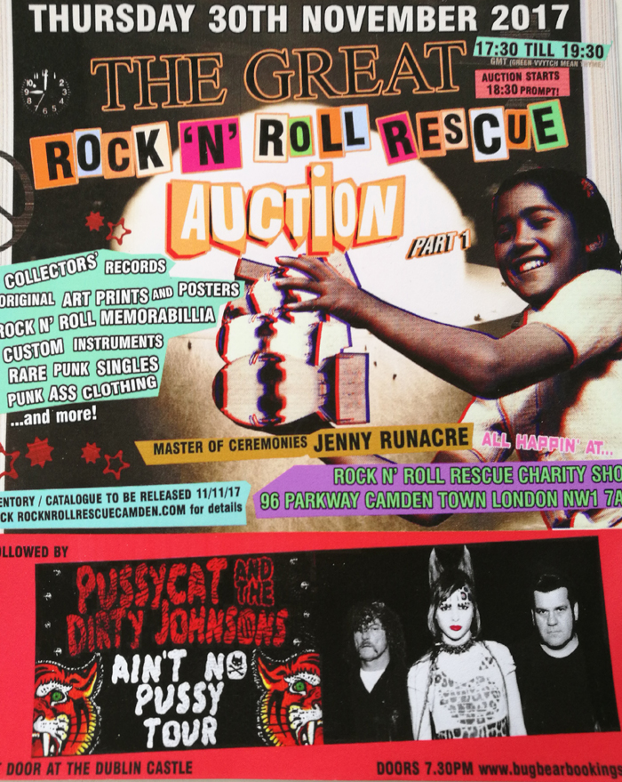 The Great Rock 'N' Roll Rescue Auction